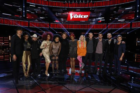 The Voice My: Doi Alicia Keys mat di chien binh dau tien - Anh 1
