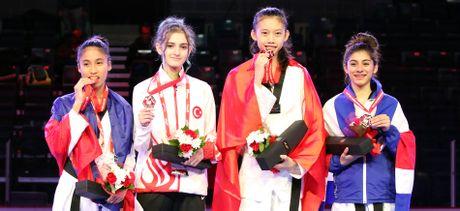 Viet Nam doat HCV taekwondo tre the gioi sau 8 nam - Anh 1