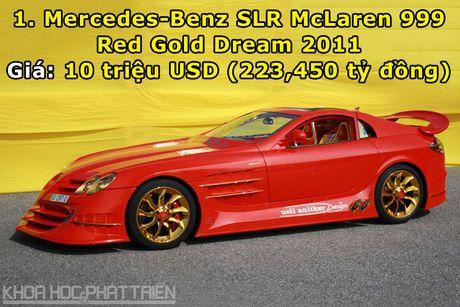 10 sieu xe Mercedes-Benz dat nhat trong lich su - Anh 1