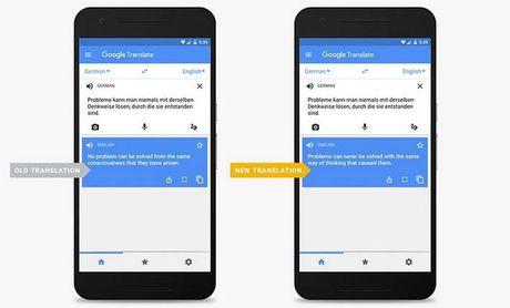 Google tien hanh 'dai tu' ung dung Google Translate - Anh 1
