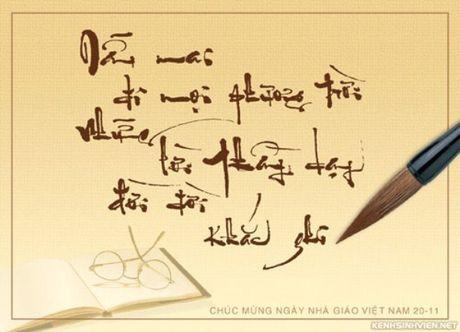 Nhung loi chuc Ngay Nha giao Viet Nam 20-11 hay va y nghia nhat - Anh 3