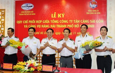 Cang vu Hang hai TP.HCM, TCT Tan cang ky ket quy che phoi hop - Anh 3