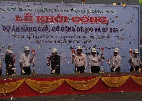 Long An khoi cong du an BOT nghin ty - Anh 1