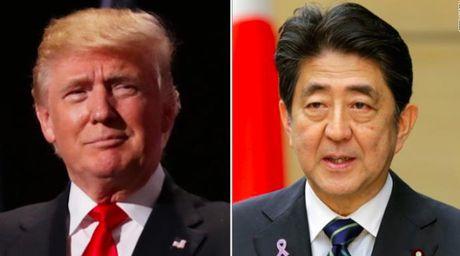 Thu tuong Nhat Ban Abe se noi gi trong chuyen gap ong Trump? - Anh 1
