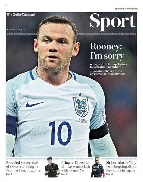 Rooney len tieng xin loi vi vu di uong ruou ca dem - Anh 2