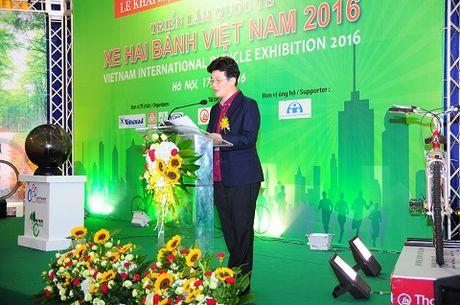 Chinh thuc khai mac trien lam quoc te xe hai banh Viet Nam 2016 tai Ha Noi - Anh 2