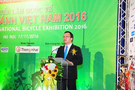 Chinh thuc khai mac trien lam quoc te xe hai banh Viet Nam 2016 tai Ha Noi - Anh 3