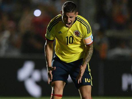 Huyen thoai Colombia tin James Rodriguez da nhiem thoi quen xau tu Ronaldo - Anh 1