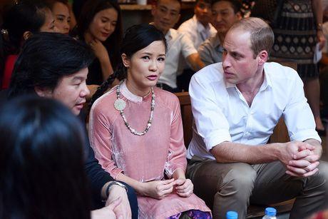 Chong Hong Nhung trong con de vo tiep Hoang tu Anh - Anh 2