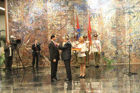 Toan canh: Chu tich nuoc Tran Dai Quang tham chinh thuc Cuba - Anh 10
