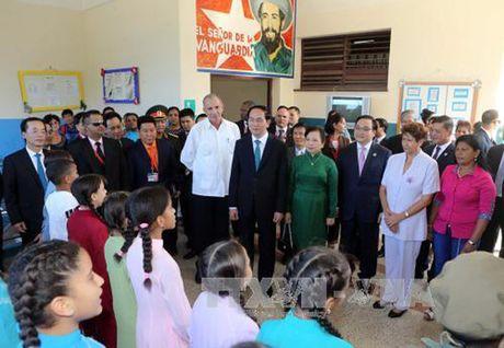Toan canh: Chu tich nuoc Tran Dai Quang tham chinh thuc Cuba - Anh 12