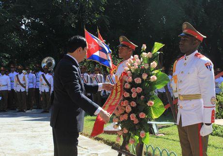 Toan canh: Chu tich nuoc Tran Dai Quang tham chinh thuc Cuba - Anh 14