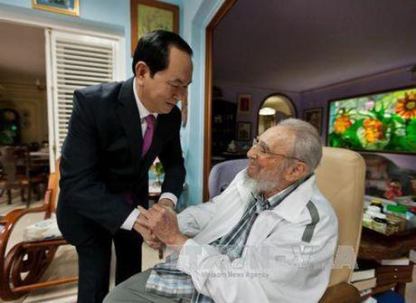 Toan canh: Chu tich nuoc Tran Dai Quang tham chinh thuc Cuba - Anh 3