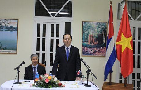 Toan canh: Chu tich nuoc Tran Dai Quang tham chinh thuc Cuba - Anh 4