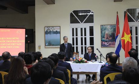 Toan canh: Chu tich nuoc Tran Dai Quang tham chinh thuc Cuba - Anh 5