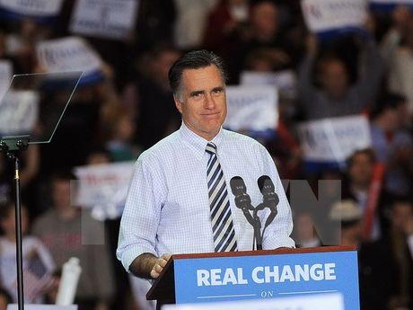 Ong Trump bat ngo can nhac ong Mitt Romney lam Ngoai truong My - Anh 1