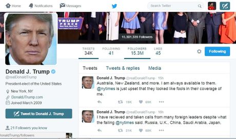 Donald Trump 'dau khau' voi to New York Times - Anh 2