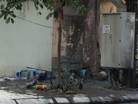 Vu no bot dien: Sang nghiem thu dat chuan, chieu no - Anh 1