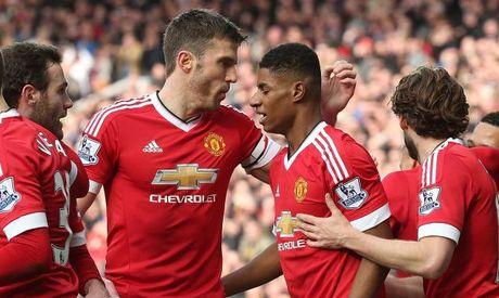 Doi hinh du kien Man United vs Arsenal: Loi giai cho Rashford va Sanchez - Anh 1