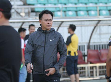 DT Malaysia de cao canh giac voi thay tro HLV Huu Thang - Anh 1