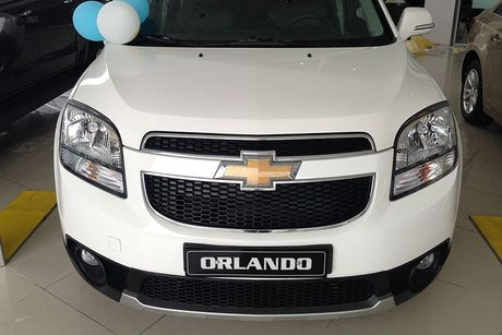 Can canh 'xe hop dinh loi' Chevrolet Orlando tai Viet Nam - Anh 2