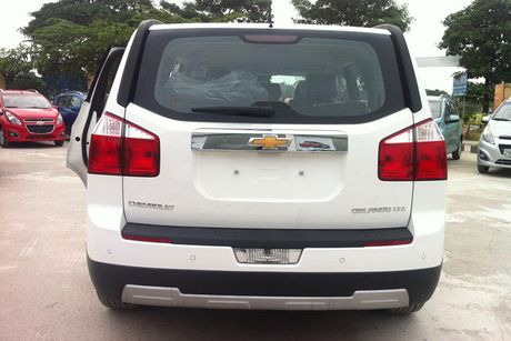 Can canh 'xe hop dinh loi' Chevrolet Orlando tai Viet Nam - Anh 3
