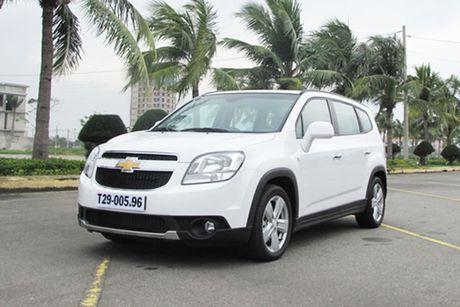 Can canh 'xe hop dinh loi' Chevrolet Orlando tai Viet Nam - Anh 8