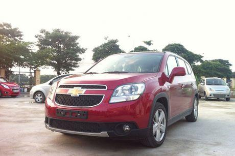 Can canh 'xe hop dinh loi' Chevrolet Orlando tai Viet Nam - Anh 9