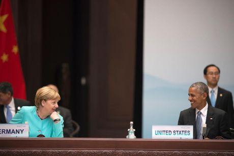 Nguong mo tinh ban cua Tong thong Obama va Thu tuong Merkel - Anh 2