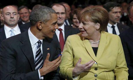 Nguong mo tinh ban cua Tong thong Obama va Thu tuong Merkel - Anh 3