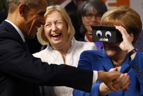 Nguong mo tinh ban cua Tong thong Obama va Thu tuong Merkel - Anh 4