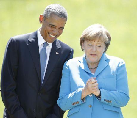 Nguong mo tinh ban cua Tong thong Obama va Thu tuong Merkel - Anh 5