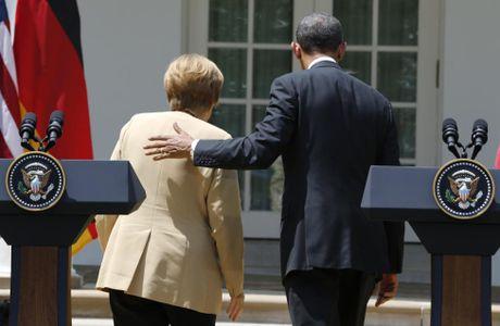 Nguong mo tinh ban cua Tong thong Obama va Thu tuong Merkel - Anh 6