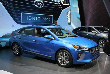 Hyundai 'trinh lang' xe tu lai Ioniq tai trien lam Los Angeles - Anh 8