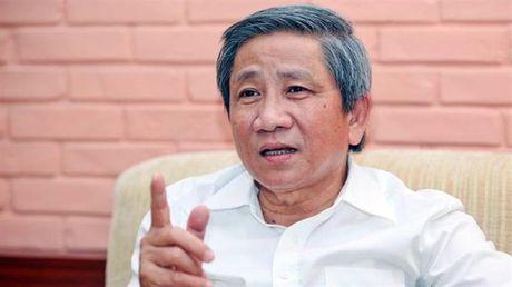 GS.TS Nguyen Minh Thuyet: Bo truong Phung Xuan Nha tra loi thang than, trach nhiem - Anh 1