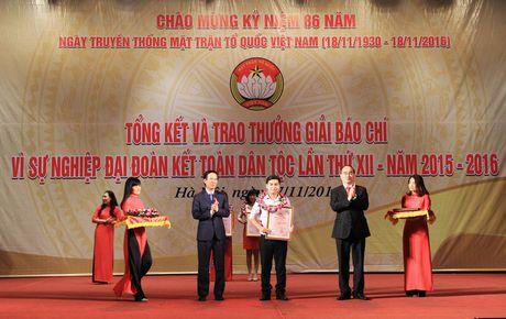 """VTV gianh giai A Giai Bao chi """"Vi su nghiep Dai doan ket dan toc"""" - Anh 1"""