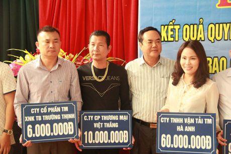 Hiep hoi Van tai Hai Phong ung ho dong bao lu lut mien Trung - Anh 1