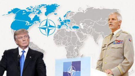 Tuong NATO: Trump khong dam tu bo cam ket voi chau Au - Anh 1