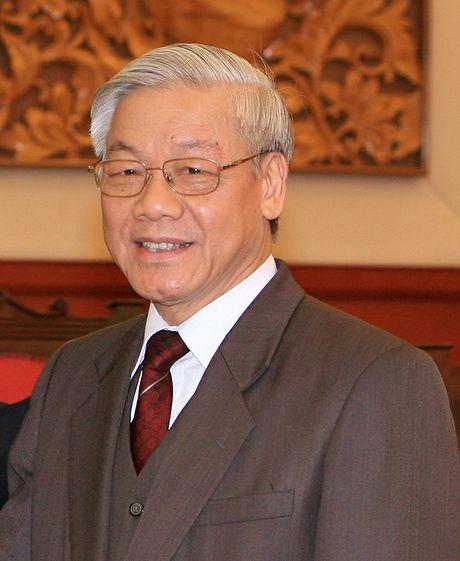 Tong Bi thu Nguyen Phu Trong se tham huu nghi chinh thuc CHDCND Lao - Anh 1