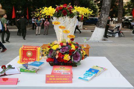 Hoc vien ANND to chuc nhieu hoat dong chao mung Ngay Nha giao Viet Nam 20-11 - Anh 19