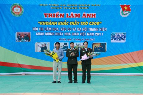 Hoc vien ANND to chuc nhieu hoat dong chao mung Ngay Nha giao Viet Nam 20-11 - Anh 4