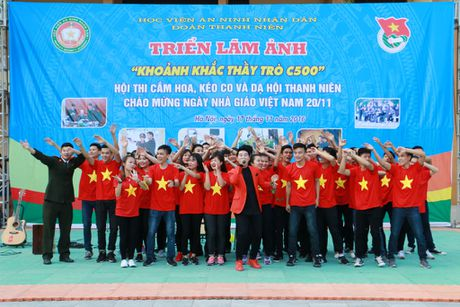 Hoc vien ANND to chuc nhieu hoat dong chao mung Ngay Nha giao Viet Nam 20-11 - Anh 8
