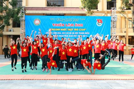 Hoc vien ANND to chuc nhieu hoat dong chao mung Ngay Nha giao Viet Nam 20-11 - Anh 9
