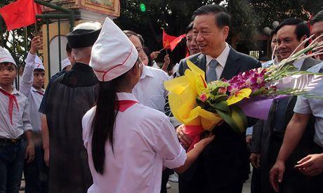 Bo truong To Lam du Ngay hoi Dai doan ket toan dan toc - Anh 1