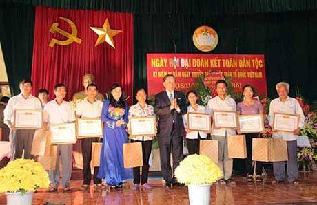 Bo truong To Lam du Ngay hoi Dai doan ket toan dan toc - Anh 3
