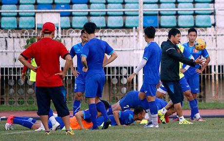 DT Viet Nam: Choi bong nem de thang Myanmar o san Thuwunna - Anh 11