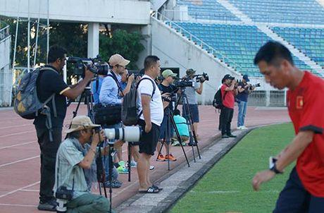 DT Viet Nam: Choi bong nem de thang Myanmar o san Thuwunna - Anh 1