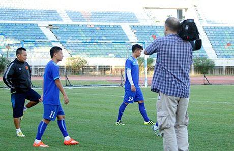 DT Viet Nam: Choi bong nem de thang Myanmar o san Thuwunna - Anh 2