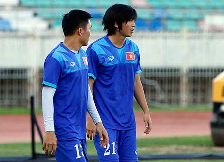 DT Viet Nam: Choi bong nem de thang Myanmar o san Thuwunna - Anh 3