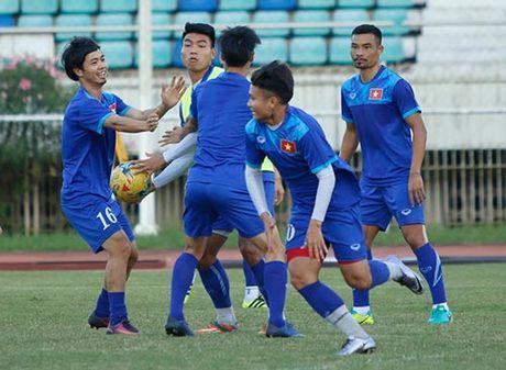 DT Viet Nam: Choi bong nem de thang Myanmar o san Thuwunna - Anh 7
